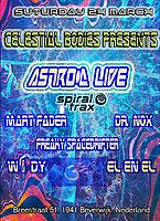 Party Flyer Celestial Bodies Party With Astro-D + Friends 24 Mar '18, 23:00