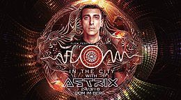Party Flyer FLOW in the CITY 2018 with ASTRIX 24 Mar '18, 22:00