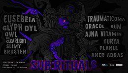 Party Flyer ✧ Sub:rituals ✧ 24 Mar '18, 22:00