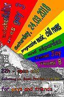 Party Flyer ZwischenKultur goes gay 3 24 Mar '18, 22:00
