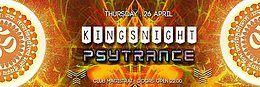"""Party Flyer Monkey Krew presents: """" Kingsnight Psytrance"""" 26 Apr '18, 22:00"""
