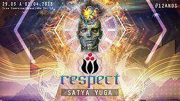 Party Flyer ReSPect Festival 2018 - Ilha Comprida (Feriado de Páscoa) 29 Mar '18, 08:00