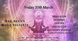 Party Flyer Follow the White Rabbit 30 Mar '18, 18:00