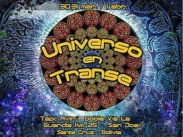Party Flyer Universo en Transe Festival 30 Mar '18, 18:00