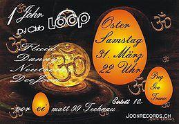 Party Flyer 1 Jahr Dj Club Loop 31 Mar '18, 22:00