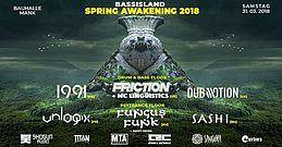 Party Flyer Bass Island Spring Awakening 2018 31 Mar '18, 21:30