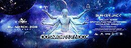 Party Flyer Cosmic Paradox 31 Mar '18, 22:00
