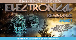 Party Flyer Electronical Resistance PHASE I 31 Mar '18, 22:00