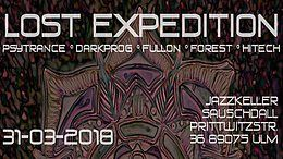 Party Flyer Lost Expedition 31 Mar '18, 22:00