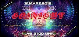Party Flyer Unsere ERSTE Goanacht 31 Mar '18, 21:00