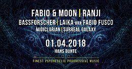 Party Flyer Electronic Sensation Goa Floor: Fabio & Moon,Ranji,Bassforscher 1 Apr '18, 22:00