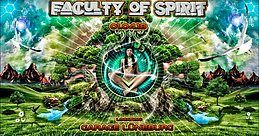 Party Flyer Faculty of Spirit - Easter Goa 1 Apr '18, 23:00