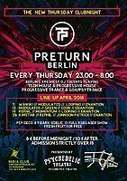 Party Flyer Preturn Berlin 5 Apr '18, 23:00