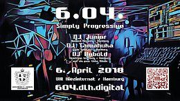 Party Flyer 604 - Simply Progressive 6 Apr '18, 22:00