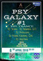 Party Flyer Psy Galaxy #1 6 Apr '18, 20:30