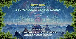 Party Flyer a Psychedelic Easter Legacy 7 Apr '18, 23:30