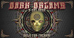 Party Flyer Dark Dreams (B-Day Bash) 7 Apr '18, 22:00