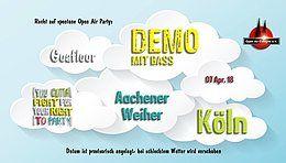Party Flyer Demo für spontane Open Air Partys 2018 (Goa) 7 Apr '18, 12:30