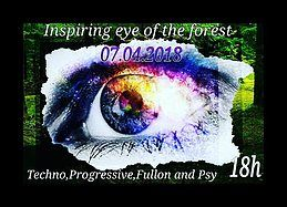Party Flyer Inspiring Eye Of The Forest 18h 7 Apr '18, 14:00