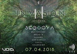 Party Flyer INVASION II 7 Apr '18, 22:00