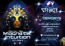 Party Flyer Magnetik Intuition 7 Apr '18, 23:30
