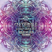 Party Flyer PsyTemple 싸이템플 Global Sound 003 7 Apr '18, 22:00