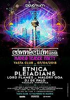 Party Flyer Selenium - Connection Festival Teaser Party 7 Apr '18, 23:30