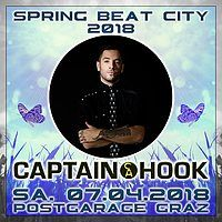 Party Flyer Spring Beat City 2018 mit Captain Hook extended 7 Apr '18, 22:00