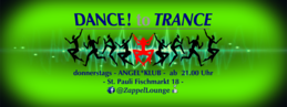 Party Flyer DANCE to TRANCE 12 Apr '18, 21:00