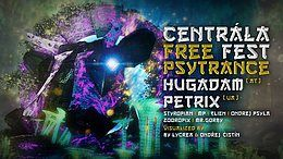 Party Flyer Centrála Free Fest 3 Psytrance Stage 13 Apr '18, 21:00