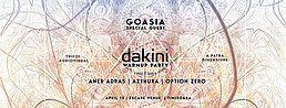 Party Flyer Dakini Warm-up Timisoara, Romania 13 Apr '18, 22:30