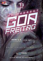 Party Flyer Goa-Freitag 13 Apr '18, 23:00