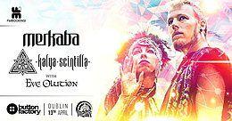 Party Flyer Psy Gaff #09 MERKABA & KALYA SCINTILLA with Eve Olution 13 Apr '18, 23:00