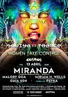 Party Flyer Sevilla 'N' Trance @Sala Cosmos 13/04/18 13 Apr '18, 23:30