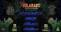 Party Flyer Solarado Solar Eclipse Celebration (İzmir Pre-Event) 13 Apr '18, 22:00