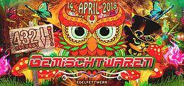 Party Flyer ★★★ GEMISCHTWAREN - 432 RECORDS SPECIAL ★★★ 14 Apr '18, 22:00