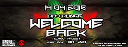 Party Flyer WELCOME BACK DAY DANCE 14 Apr '18, 13:00
