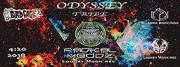 Party Flyer Odyssey Tribe 20 Apr '18, 00:00