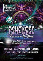 Party Flyer Psychose 20 Apr '18, 23:00