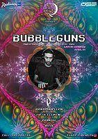 Party Flyer BUBBLEGUNS Live in Chennai 21 Apr '18, 20:00