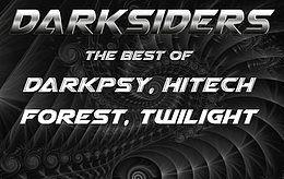 Party Flyer D A R K S I D E R S ૐ - the best around Hi-Tech, Darkpsy and Forest 21 Apr '18, 22:00