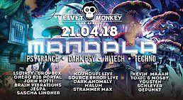 Party Flyer Mandala w/ LsDirty,Onero b2b Portal,DropBox 21 Apr '18, 23:00