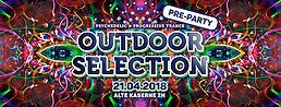 Party Flyer Outdoor Selection Pre-Party 21 Apr '18, 22:30