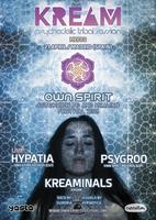 Party Flyer HYPATIA LIVE! Own Spirit Teaser by KREAM 21 Apr '18, 23:30