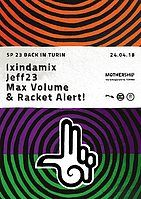 Party Flyer Sp23 back in Turin 24 Apr '18, 22:00