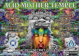 Party Flyer Acid Mother Temple 26 Apr '18, 15:00