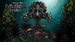 Party Flyer Cycledelic Ceremony w/ Meerkut Live, Chudl Live 27 Apr '18, 22:00