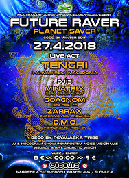 Party Flyer Future Raver (planet saver)w/Tengri 27 Apr '18, 22:00