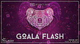 Party Flyer Goala Flash ◢Chorea Lux live◢ Sonderveranstaltung◢ 27 Apr '18, 23:00