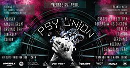 Party Flyer Psy Union 27 Apr '18, 23:30